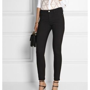 Frame Denim Le High Skinny Stretch Cropped Jeans